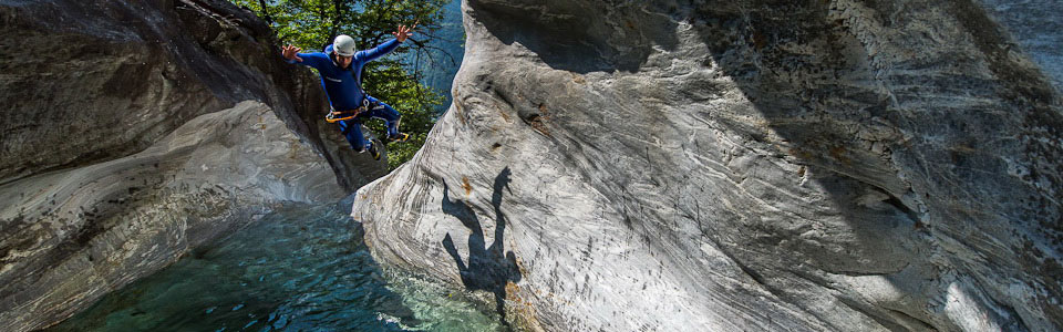 Canyoning Boggera Challenge Tessin Ticino